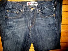 "LEVI'S 514 ""THIS IS A PAIR OF LEVI'S"" NATURAL WEAR MEN'S JEANS SIZE 29 X 29 18"