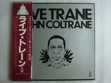 JOHN COLTRANE LIVE TRANE / 3LP BOX WITH OBI