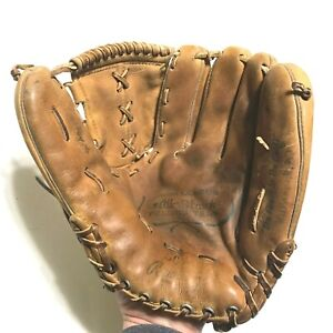 "Vintage 1970s Rawlings GG Baseball Glove 10.5"" RHT Broken In Made in USA *READ*"