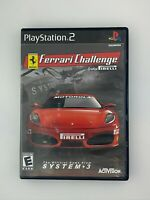 Ferrari Challenge - Playstation 2 PS2 Game - Complete & Tested