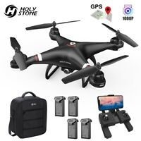 Holy Stone HS110G GPS FPV Drone with 1080P HD Camera Quadcopter Follow Me Selfie