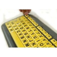 Anti Microbial Keyboard Cover for EZ Eyes Keyboards - Protect From Dirt, Dust...