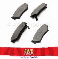 Disc Brake Pad SET [Transgold] - Suzuki Vitara LWB 5Dr 1.6 (91-97)