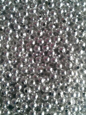 400 Bright Silver Plated Round Metal Spacer Beads - 4mm Pb & Nickel FREE