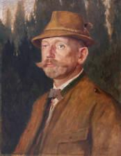 Hubert LANDA (1870-1938) Herrenbildnis 1927