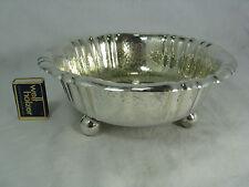Versilberte Art Deco Design Schale  Arthur Krupp Berndorf  /  silver plated bowl