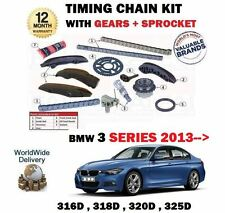 FOR BMW 316D 318D 320D 325D XDRIVE 2013-  TIMING CAM CHAIN KIT + GEARS COMPLETE
