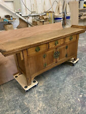 antique Chinese Alter Sideboard Oak