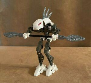 8588 Lego Complete Rahkshi Kurahk Bionicle action figure white