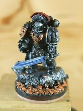 FORGEWORLD SPACE MARINE MKIV COMMANDER PAINTED (186)