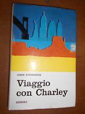 JOHN STEINBECK- VIAGGIO CON CHARLEY- RIZZOLI 1969