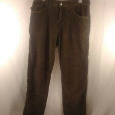 Quiksilver Men's W/34 L/31 Green Corduroy Pants