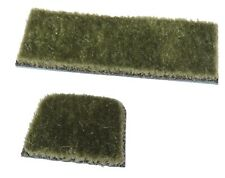 Archery 2 Pc Adhesive Super All Hair Rug & Plate Bow Arrow Rest Color: Green