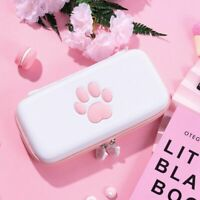 Cute Cat Paw Carrying Case Pouch Bag for Nintendo Switch and Switch Lite New US