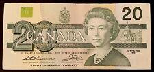 1991 - Canadian Twenty Dollar 20$ Banknote, Bank Of Canada