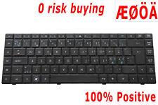 For HP 620 625 Compaq 620 621 625 CQ620 606129-DH1 605814-DH1 Keyboard Nordic DK