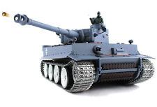 Heng Long Radio Remote Control RC German Tiger Tank UK -- Platinum Version 1/16