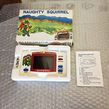 1984# SUNWING VINTAGE NAUGHTY  SQUIRREL LCD GAME& WATCH  SGC-851#NIB