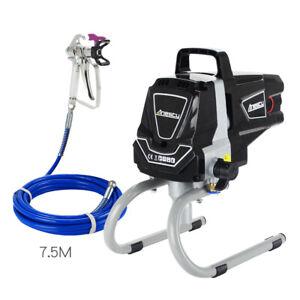 Airless Paint Sprayer High Pressure Spraying Machine Wall Painter 227Bar 1.5L/M