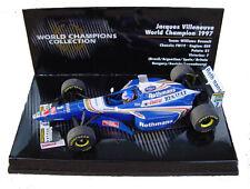 1:43 Minichamps Williams FW19 - Jacques Villeneuve - World Champion 1997 - New