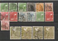 Lot Alliierte Besetzung Deutsche Post 1947 gestempelt