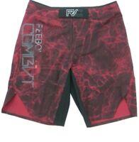 Reebok Hombre Combate Prime Mma UFC Shorts de Entrenamiento Burnt Sienna Nuevo