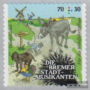 FRD Germany 3287 self-adhesive edition used 2017 Grimms Märchen