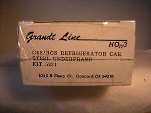 HOn3 Grandt Line C&S /RGS Refrigerator Car Kit