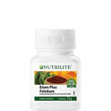 NUTRILITE Eisen Plus Folsäure | Schwangerschaft | 120 Tabletten | Amway | Amava