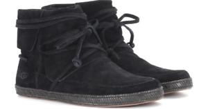 UGG Reid Moc Black Ankle Boot Women's US sizes 5-11/NEW!!!