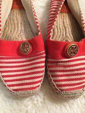 Tory Burch Espadrilles Flats EUC 7 Spring Fashion Trendy Shoes
