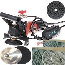 Variable Speed Concrete Marble Wet Polisher Grinder 45 Pad stone travertine buff