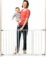Regalo Easy Open Super Wide Walk Thru Baby / Pet Gate White, New, Free Shipping