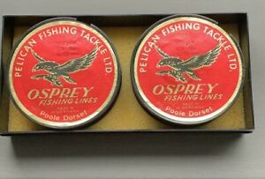 Pelican Fishing Tackle LTD Osprey Fishing Line Vintage Collectable.