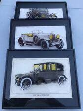 1911 10h.p. Stanley Steam Car 1919 24h.p. Renault 1927 7370 CC. Isotta Fraschini