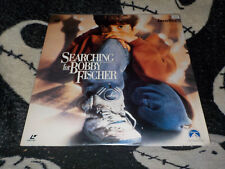 Searching For Bobby Fischer Laserdisc LD +Newspaper Clips Free Ship $30 Orders
