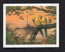 Guyana 1999 Jendaya Conure Parakeets  Mini Sheet  Sc 3431 MNH