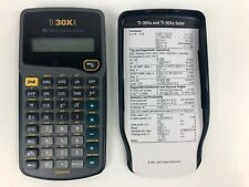 Texas Instruments TI-30Xa Solar Scientific Math Science STEM School Calculator