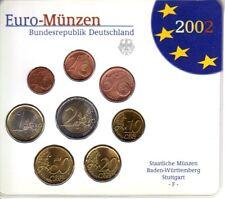 ALLEMAGNE Coffret 8 Pièces d'Euro  BU 2002 - Atelier F