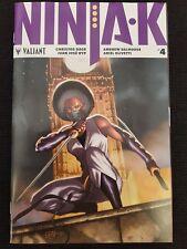 Ninja-K #4 1st Print FN/VF Valiant