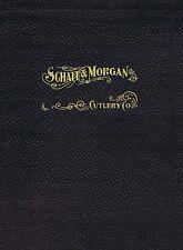 Reproduced Schatt & Morgan Cutlery Company's first catalog: