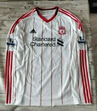 Liverpool 2010 Away shirt size Large long sleeve 'Carragher 23' Adidas retro