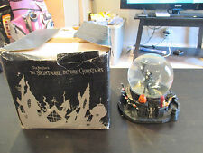 Disneys Nightmare Before Christmas Jack Skellington Zero Snow Water Globe