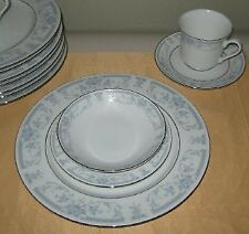 Sheffield Blue Whisper 4 Piece Place Setting