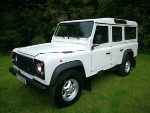 1997 Land Rover Defender 110 County Station Wagon LEFT HAND DRIVE 300 Tdi