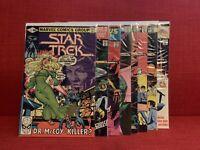 Star Trek Comic Lot #5-9, 13, 14, 17 (1980, Marvel) VG and better.