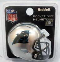 NFL Carolina Panthers Helmet Riddell Pocket Pro SPEED Style Mini Team Helmet