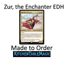 MTG Zur, the Enchanter Enchantments - Made to Order - EDH Commander Deck