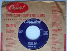BEA & DEE Wishing Time b/w Jerry CAPITOL F4223 Rock & Roll Duo 45 w350