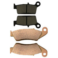 Front & Rear Brake Pads for Honda XR 400 R Honda CR 125 250 500 R Honda XR 600 R